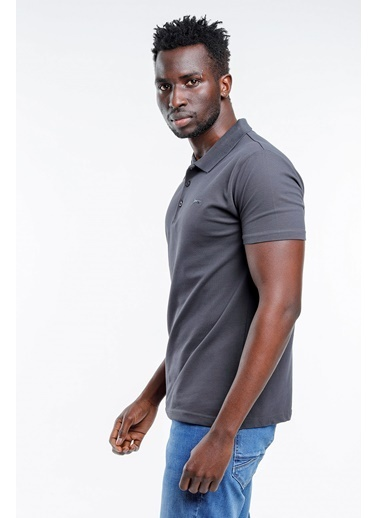 Slazenger Slazenger SOHO Erkek T-Shirt Hardal Gri